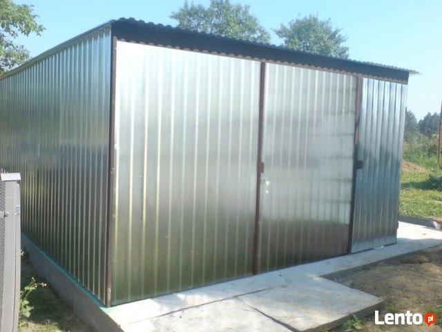Garaż Blaszany 4x6 PRODUCENT WZMOCNIONY