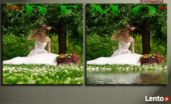 Retusz i obróbka zdjęć – Fotomontaż