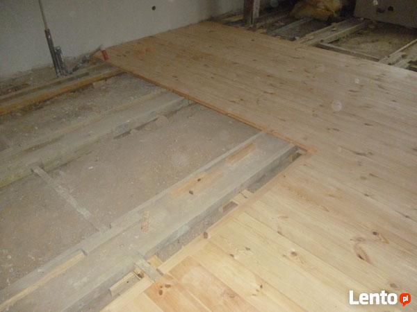 Remont podłogi drewnianej w starej kamienicy