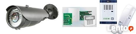 Alarm, domofon, wideodomofon, kamery monitoring