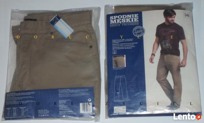 Spodnie męskie różne rozmiary