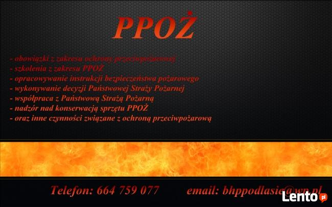 Usługi BHP HACCP GHP Łapy, Wysokie Mazowieckie, Ciechanowiec