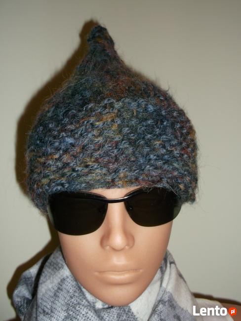 Sprzedam czapki damskie wykonane ręcznie na drutach