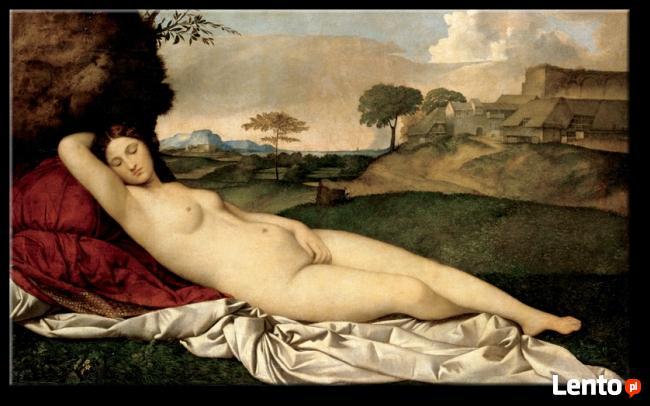Śpiąca Wenus. Reprodukcje obrazów 140x85