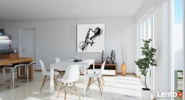 obraz do salonu SAKSOFONISTA jazzowy