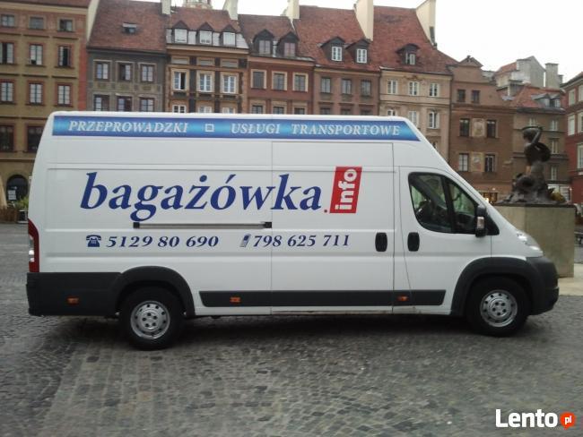 Przeprowadzki Warszawa, Przewóz, 513630833, Bagażówka.info