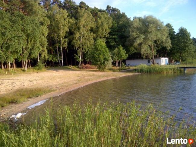 Domek letniskowy nad jeziorem (woj. Lubuskie)