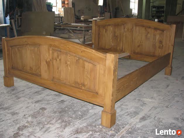 Drewniane SOLIDNE Łóżko AC 05 PRODUCENT 669-125-410