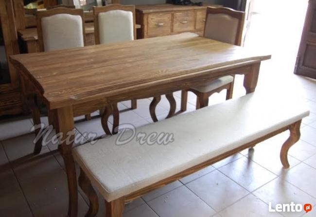 Ławka Drewniana Tapicerowana PRODUCENT 669-125-410