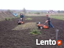 Koszenie, wykaszanie, karczowanie trawy oraz chwastów kosą