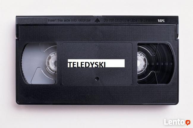 Kupię kasety wideo VHS z teledyskami MTV