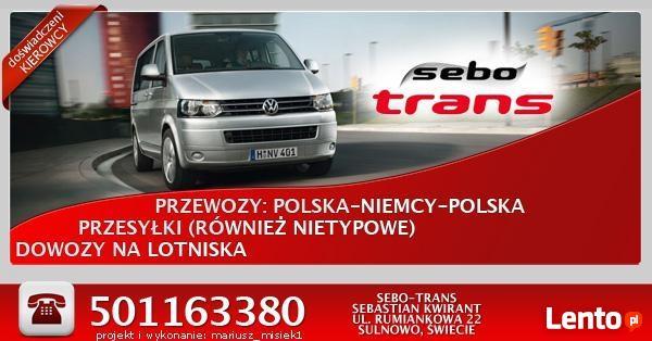 Regularne przewozy Polska-Niemcy SEBO-TRANS