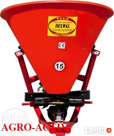 Rozsiewacz Lejkowy Jednoturbinowy 350 370 L DEXWAL AGRO-ACTI