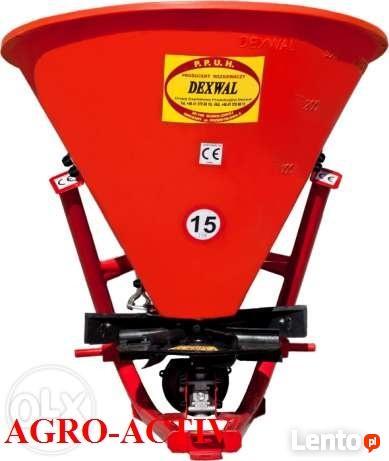 Rozsiewacz Lejkowy Jednoturbinowy 400 440 L DEXWAL AGRO-ACTI
