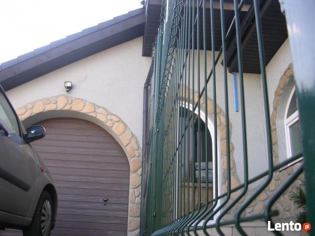 Ogrodzenie z paneli h123cm + podmurówka. PRODUCENT!!!