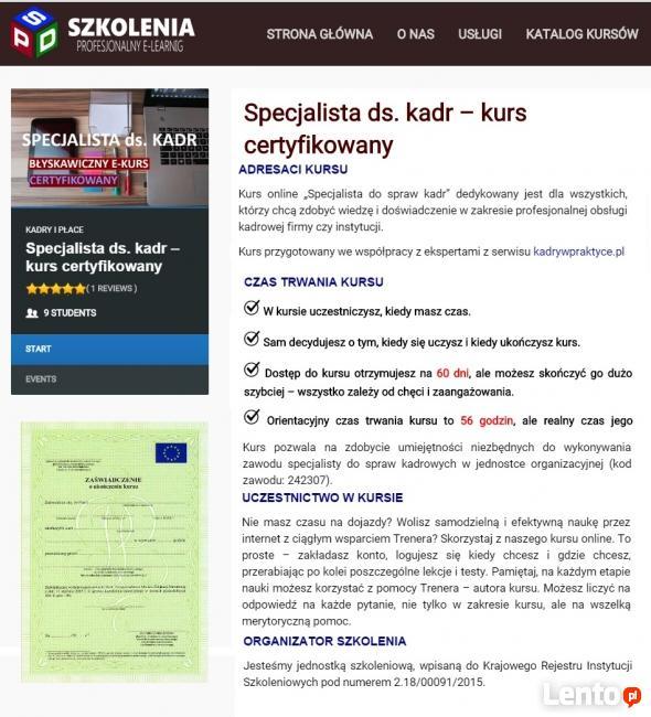"""Kurs """" Obsługa programu PŁATNIK"""" - SPD SZKOLENIA"""