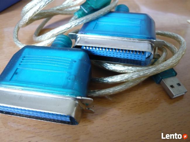 kabel przejściówka z usb na drukarke 2 szt