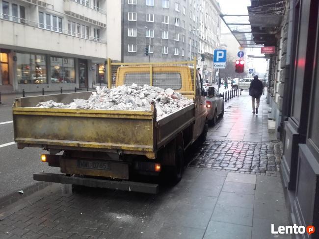 Wyburzanie ścian Warszawa,skuwanie posadzek,tynku,glazury,wy