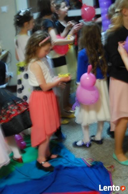 Atrakcje, animacje, zabawy dla dzieci na imprezie, weselu.