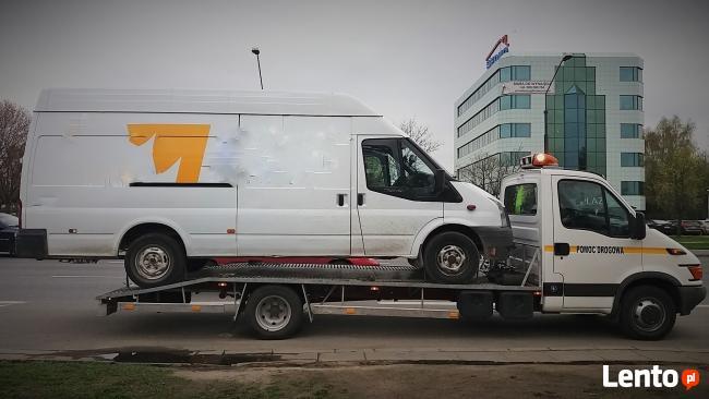 Tanio Auto Pomoc Drogowa Warszawa Laweta Dostawcze Osobowe