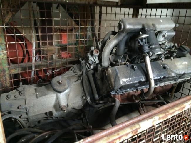 Mercedes Sprinter 312 Silnik i skrzynia biegów