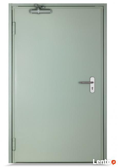 Drzwi przeciwpożarowe EI 30 jednoskrzydłowe 60 - 120