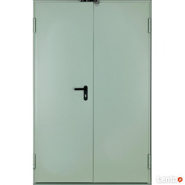 Drzwi przeciwpożarowe EI 60 dwuskrzydłowe 130 - 210