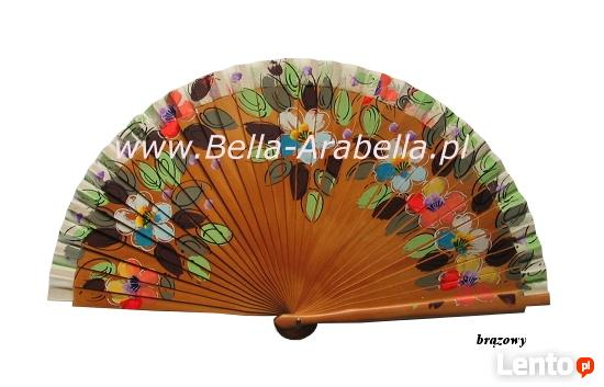 ręcznie malowane oryginalne hiszpańskie wachlarze