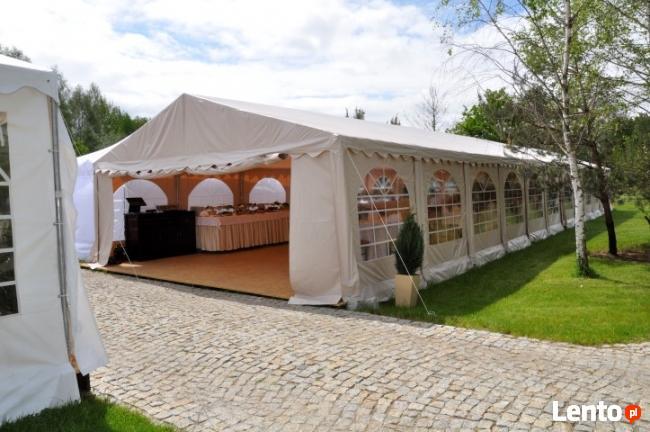 Namiot bankietowy, cateringowy - wynajem namiotów Warszawa