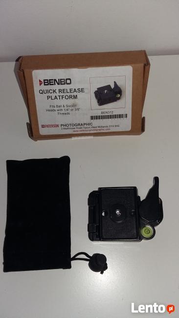 Benbo Stopka z płytką szybkiego mocowania (BEN312)