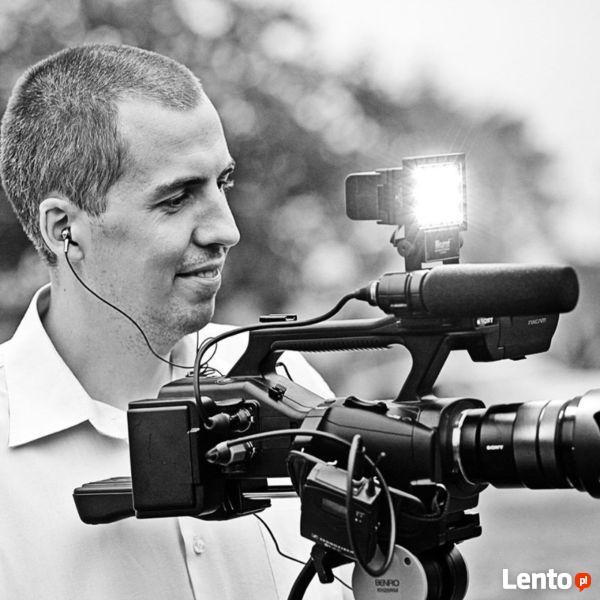 Profesjonalny kamerzysta