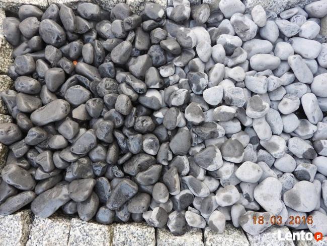 Otoczak Nero Ebano Czarny Kamień do Ogrodu Worek 25 kg