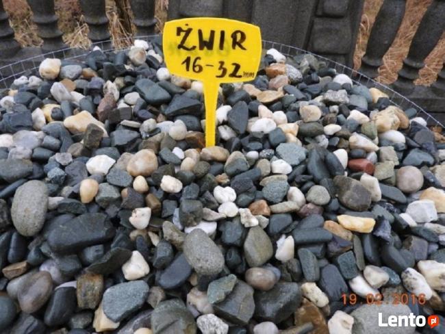 Żwir płukany drenarski 16-32mm pod oczyszczalnie Śląsk