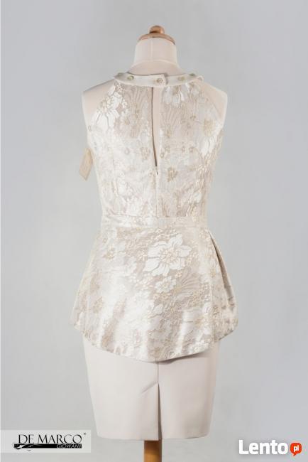 e1a249d0f3 Piękna złota sukienka na wesele dla mamy panny młodej Brzeszcze