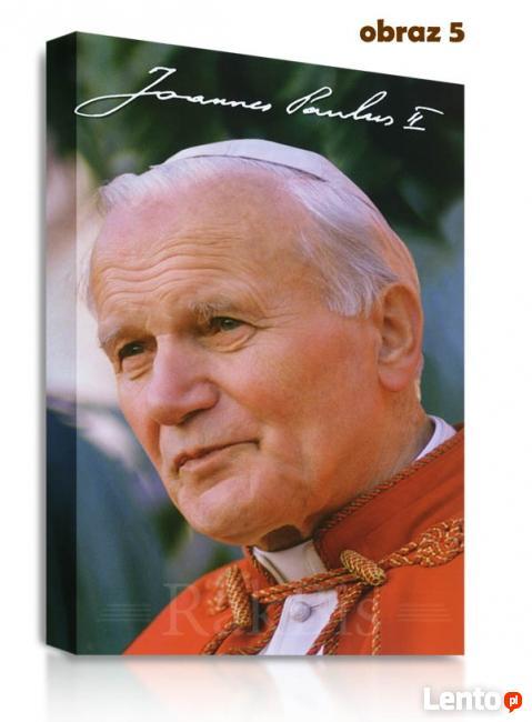 Jan Paweł II Papież Obraz na płótnie, prezent, pamiątka.