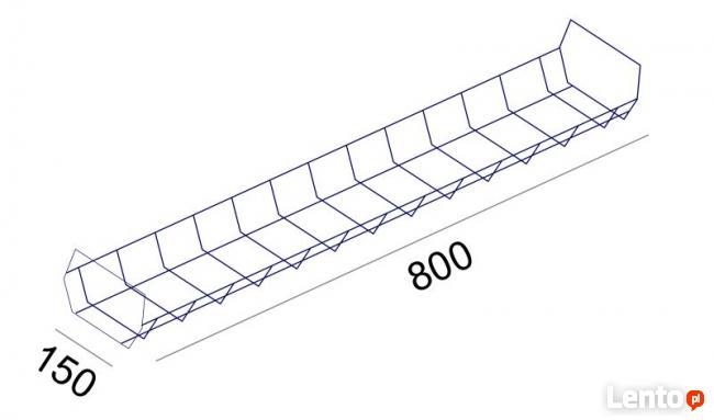 Kręgosłup kanał pionowy na kable