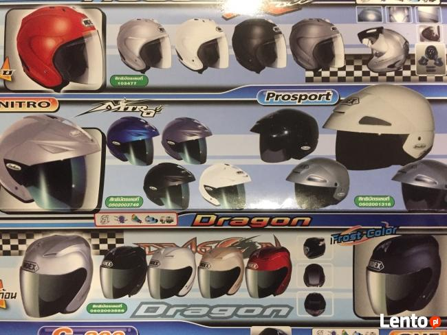 Kaski motocyklowe!Export!