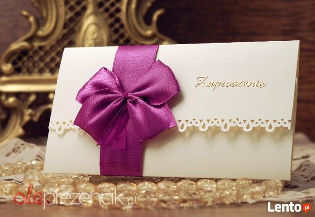 Zaproszenia Ślubne Na Ślub Wesele Zaproszenie 18 Urodziny