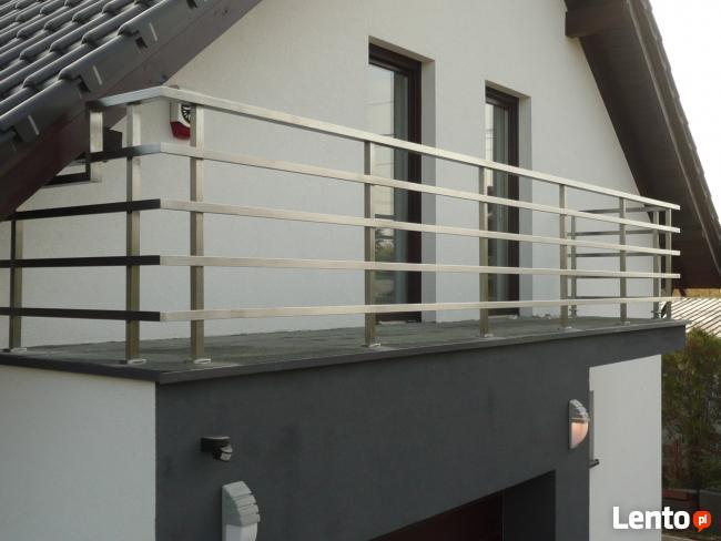 Młodzieńczy Balustrady, poręcze, balkony ze stali nierdzewnej Piła XJ41