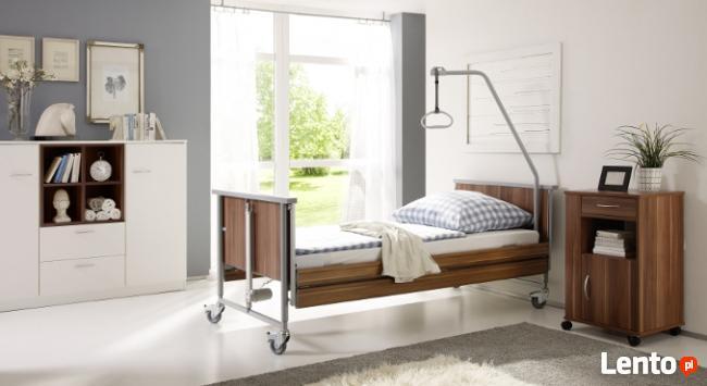 Łóżko rehabilitacyjne,koncentrator tlenu,materac p/odleżynom