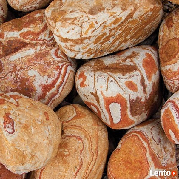 Kamień Otoczak Tęczowy Do Ogrodu worek 25 kg