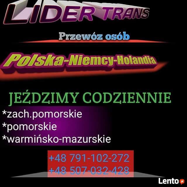 Holandia Bus Gdańsk Gdynia Wejherowo Słupsk Koszalin przewoz