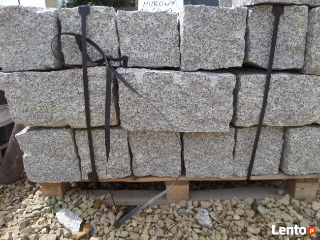 Palisady granitowe Kamień Ogrodowy Kamień Murowy