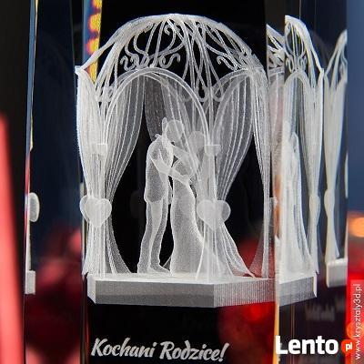 Podziękuj rodzicom wręczając statuetkę Altanka Ślubna 3D!
