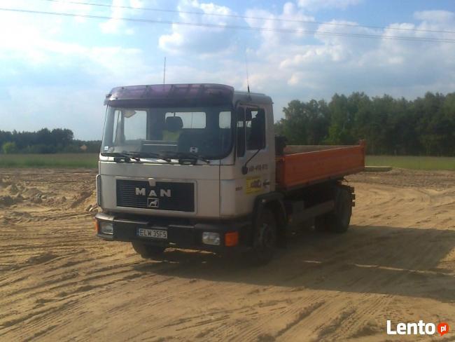 suchy beton transport - dowóz