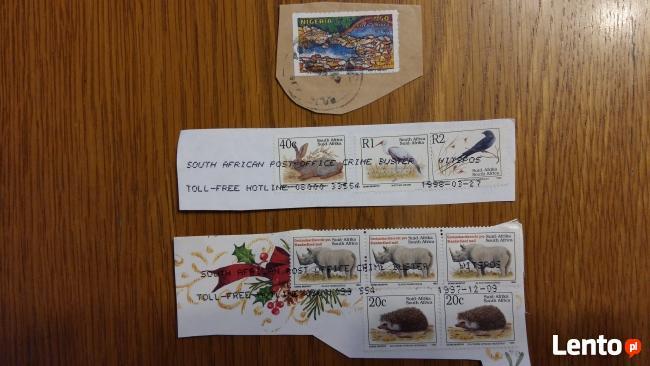 Znaczki pocztowe Połudnowa Afryka Szwajcaria Niemcy Dania I