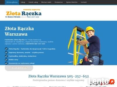 ZŁOTA RĄCZKA-NAPRAWY DOMOWE -tel. 505257652