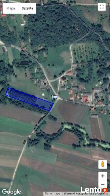 Działka nad Pilicą, łąka, las, jezioro