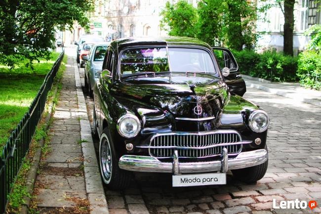 Samochód do ślubu Warszawa M20 z 1959 Kraków i okolice