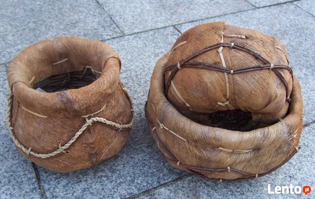 Osłonki z kory palmy